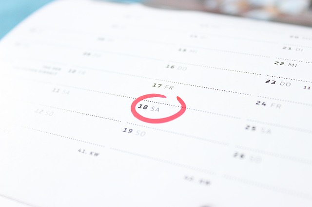 Image calendrier